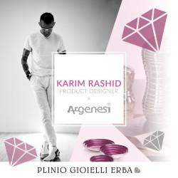 Collezione Babel firmata Karim Rashid per Argenesi nella nostra gioielleria di Erba