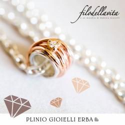 Filodellavita MINI, l'anello versione mini di Rubinia Gioielli è disponibile nella nostra gioielleria a Erba!