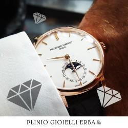 Orologi Frederique Constant nella nostra gioielleria a Erba, il lusso accessibile a tutti