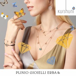 Nuova collezione di primavera di Kurshuni, scoprila nella nostra gioielleria a Erba!
