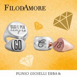 Numeri e Parole, la nuova collezione di Filodamore - Rubinia gioielli - è disponibile nella nostra gioielleria a Erba