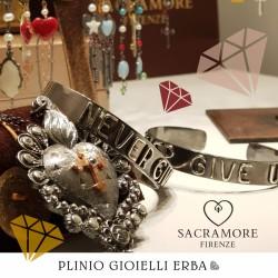 Sacramore Firenze, piccoli capolavori di oreficeria, disponibili nella nostra gioielleria di Erba
